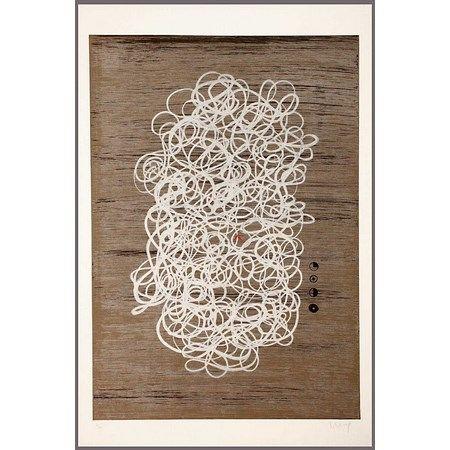 Lithograph Garcia-Sevilla - Fuga I