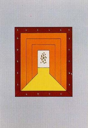 Lithograph García Sevilla - Fuga V
