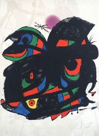 Lithograph Miró - Fundació Barcelona