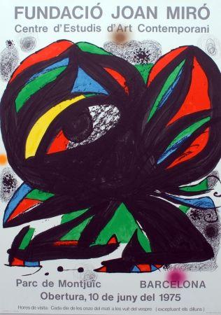 Lithograph Miró - Fundació Joan Miró