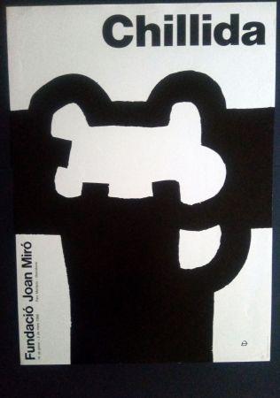Poster Chillida - Fundació Miró 1986