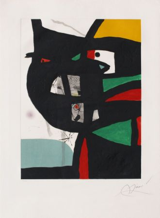 Etching And Aquatint Miró - Fundacio Palma I
