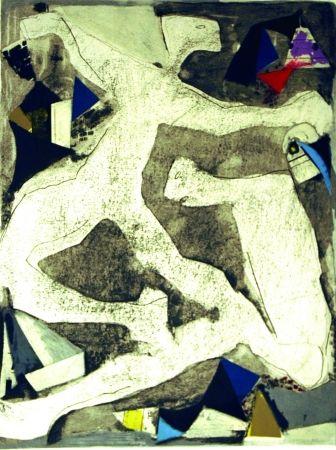 Etching And Aquatint Marini - Furia di danza