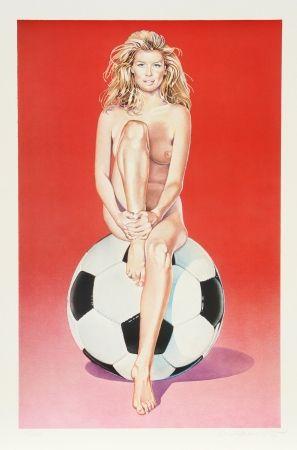 Lithograph Ramos - Fussball Fannie