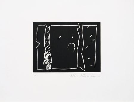 Linocut Kuroda - Futur antérieur II