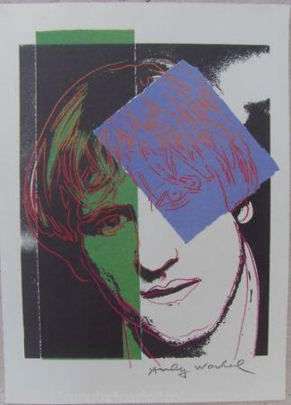 Lithograph Warhol - Gérard depardieu