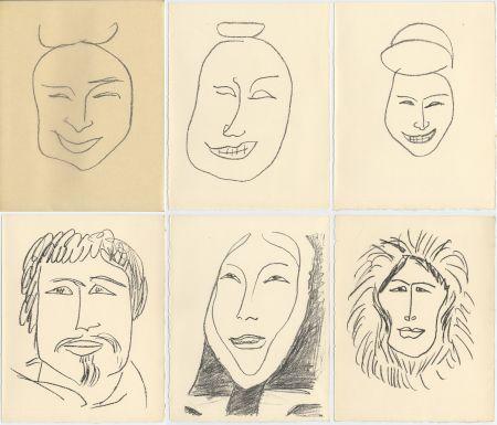 Illustrated Book Matisse - G. Duthuit : UNE FÊTE EN CIMMÉRIE (ex. avec suite) Tériade, 1963