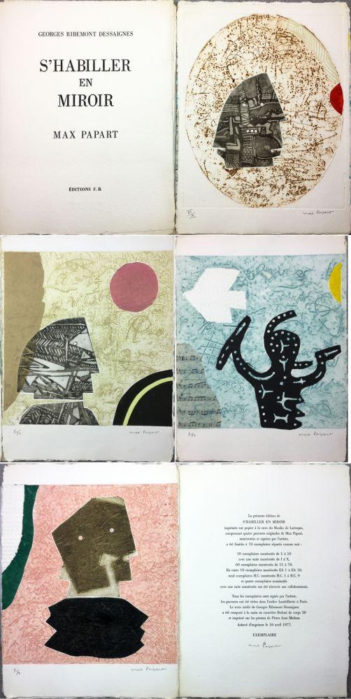 Illustrated Book Papart - G. Ribement Dessaigne : S 'HABILLER EN MIROIR (1977)
