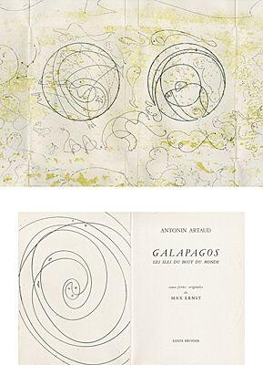 Illustrated Book Ernst - Galapagos - Les îles du bout du monde