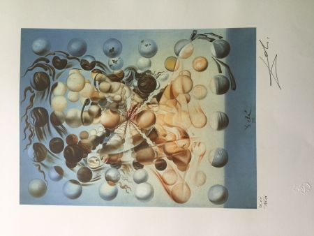 Lithograph Dali - GALATEA OF THE SPHERES