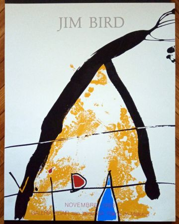 Poster Bird - Galeria Altair 1983
