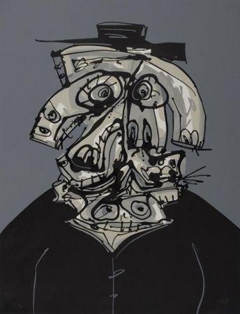 Lithograph Saura - Galeria de America
