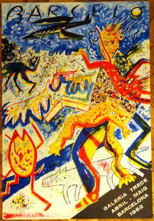 Lithograph Barcelo - Galeria trece