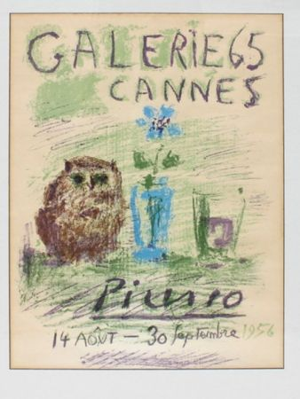 Lithograph Picasso - GALERIE 65 CANNES