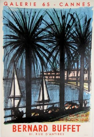 Lithograph Buffet - Galerie 65 Cannes