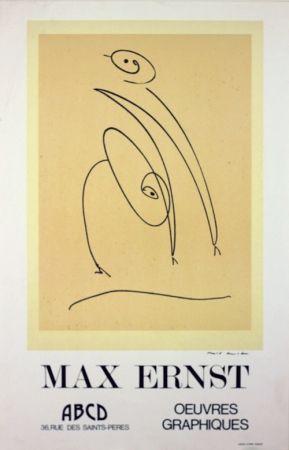 Lithograph Ernst - Galerie A B C D