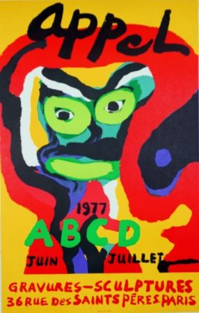 Lithograph Appel - Galerie ABCD