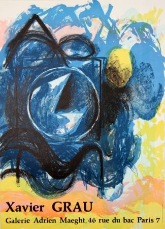 Lithograph Grau - Galerie Adrien Maeght