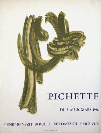 Lithograph Pichette  - Galerie André Benezit