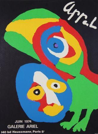 Lithograph Appel - Galerie Ariel