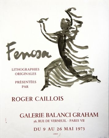 Lithograph Fenosa - Galerie Balanci Graham