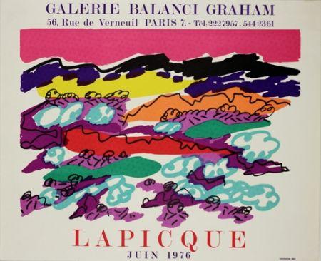 Lithograph Lapicque - Galerie Balanci Grahan