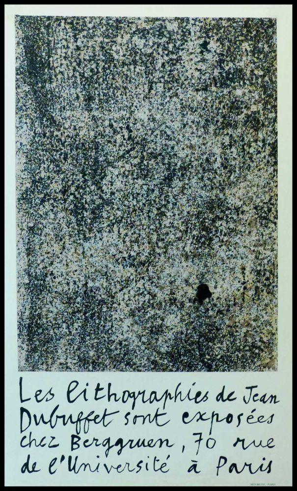 Poster Dubuffet - GALERIE BERGGRUEN