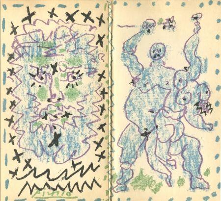 Lithograph Picasso - Galerie Berggruen, Dessins d'un demi-siècle