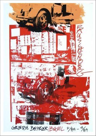 Screenprint Rauschenberg - Galerie Beyeler