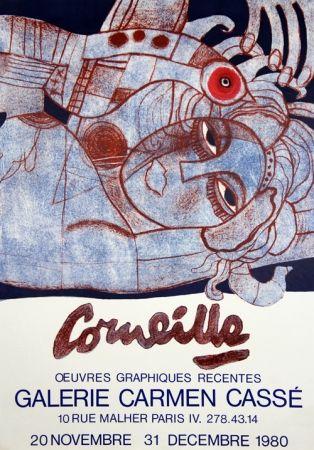 Lithograph Corneille - Galerie Carmen Casse