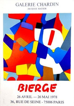 Screenprint Bierge - Galerie Chardin