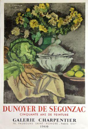 Lithograph De Segonzac - Galerie Charpentier