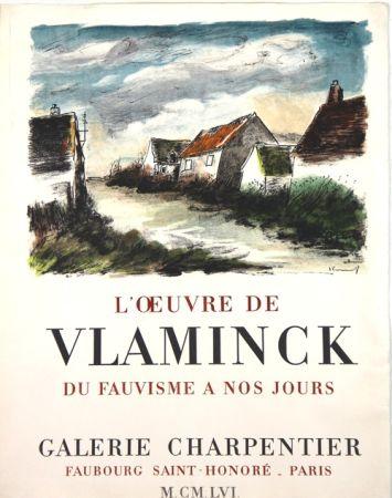Lithograph Vlaminck - Galerie Charpentier