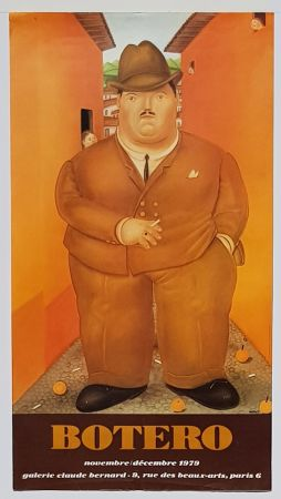 Offset Botero - Galerie  Claude Bernard