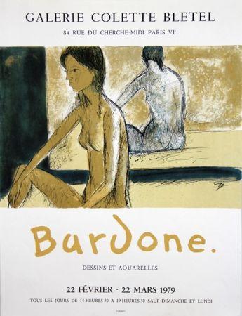 Lithograph Bardone - Galerie Colette Bletel