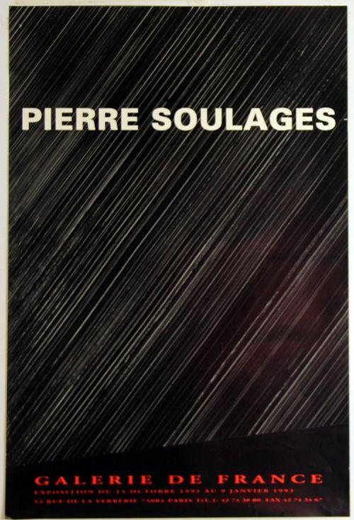 Offset Soulages - Galerie de France