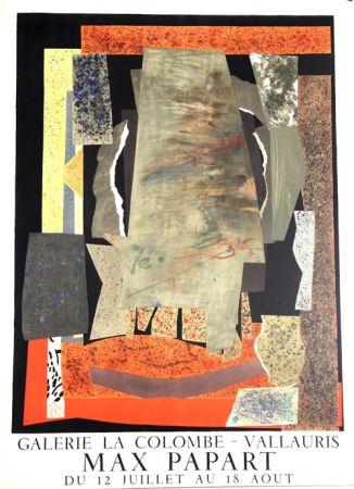 Lithograph Papart - Galerie de la Colombe Vallauris