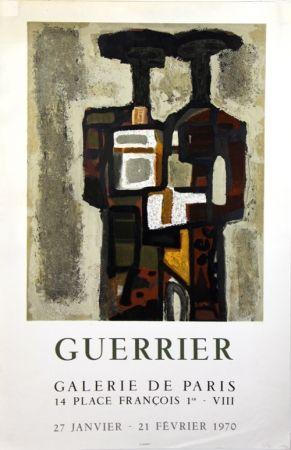 Lithograph Guerrier - Galerie de Paris