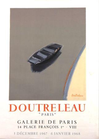 Lithograph Doutreleau - Galerie de Paris