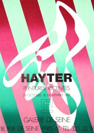 Lithograph Hayter - Galerie de Seine