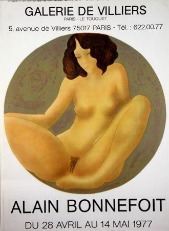 Lithograph Bonnefoit - Galerie de Villiers