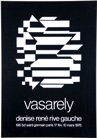 Screenprint Vasarely - Galerie Denise Rene