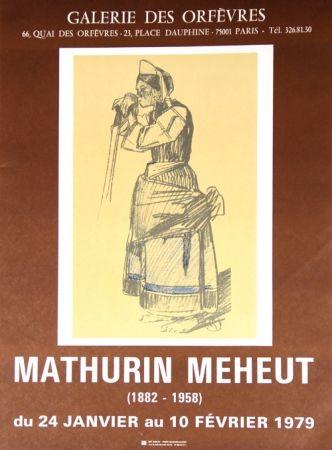 Lithograph Méheut - Galerie des Orfevres