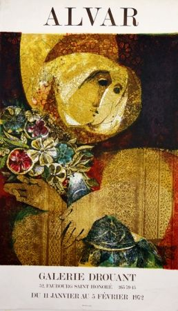 Lithograph Alvar - Galerie Drouant