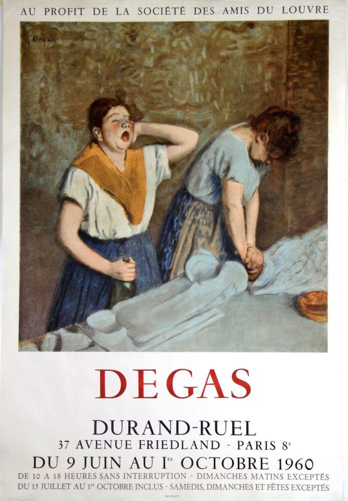 Lithograph Degas - Galerie Durand -Ruel