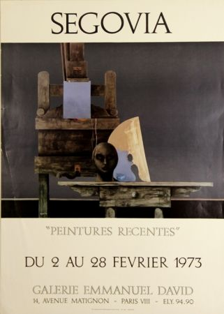 Offset Segovia - Galerie Emmanuel David