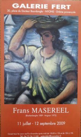 Poster Masereel - Galerie Fert - 2009