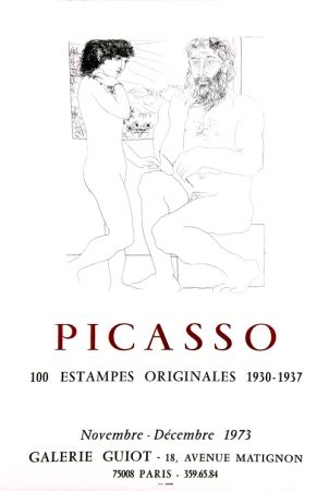 Lithograph Picasso - Galerie Guiot