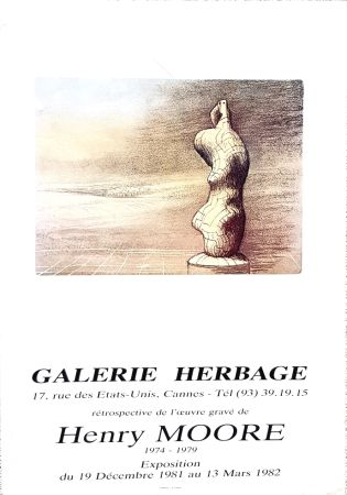 Offset Moore - Galerie Herbage  Cannes