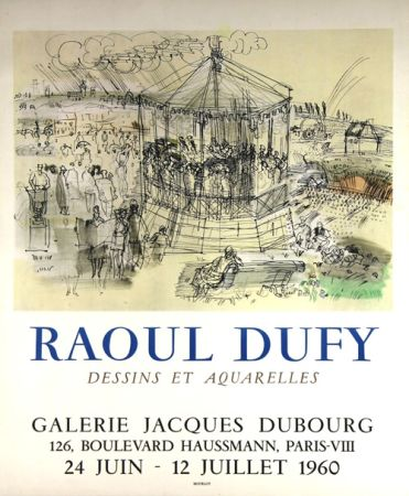Lithograph Dufy - Galerie Jacques Dubourg